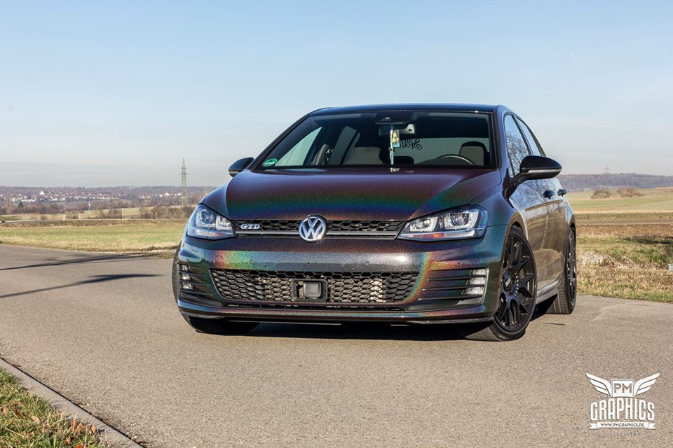 Kinetic Dragonfly Black VW Golf MK7 GTD Tuning 9 Kinetic Dragonfly Black am VW Golf MK7 GTD