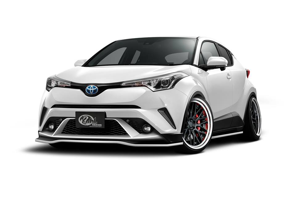 Kuhl Racing Bodykit VERZ Wheels Toyota C HR 1 Kuhl Racing rundum Bodykit am neuen Toyota C HR