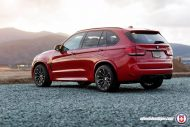 Melbourne Red BMW X5M F85 HRE P200 Tuning 2 190x127 21 Zoll HRE P200 Alu's am BMW X5M F85 in Melbourne Rot
