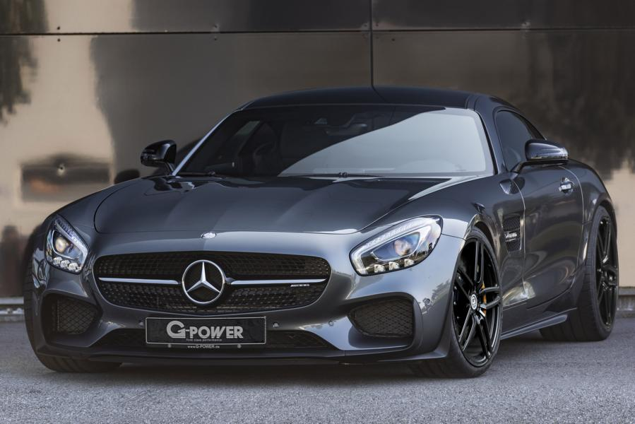 Mercedes AMG GT C190 G Power Tuning 1 G Power puscht den Mercedes AMG GT auf 610PS & 755NM