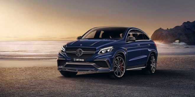 Mercedes-Benz GLE SUV mit Larte Design 20th. Bodykit