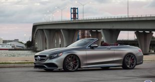 Mercedes Benz S63 AMG A217 Cabrio Tuning HRE P201 2 310x165 Edles Mercedes Benz S63 AMG Cabrio auf HRE P201 Felgen