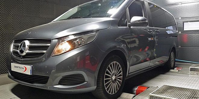 Mercedes Benz V220 Cdi Mit Chiptuning By Shiftech