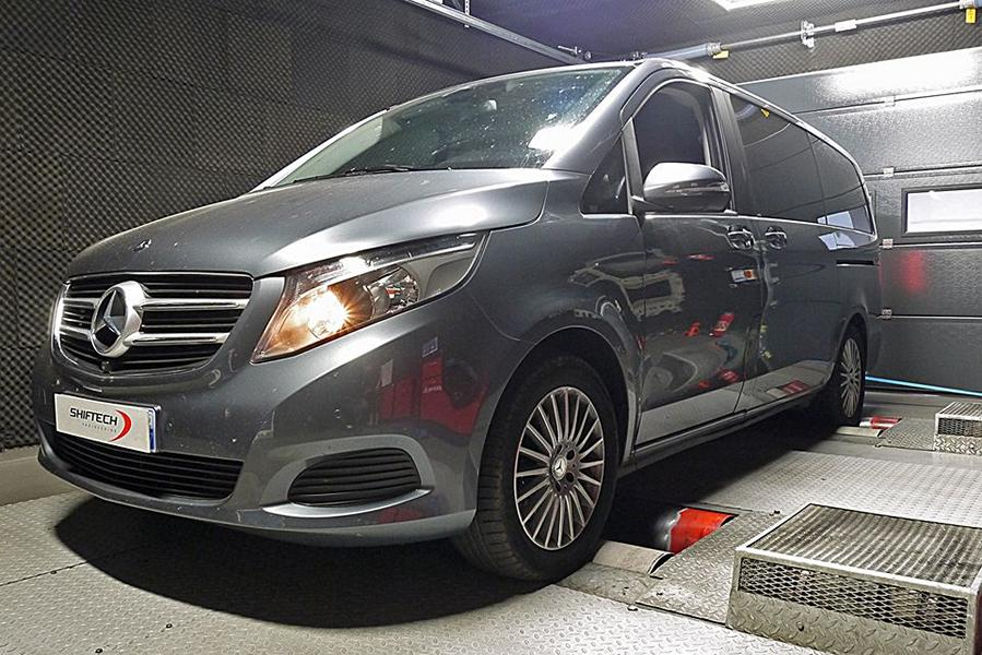 Mercedes Benz V220 CDI Chiptuning W447 1 Mercedes Benz V220 CDI mit Chiptuning by Shiftech