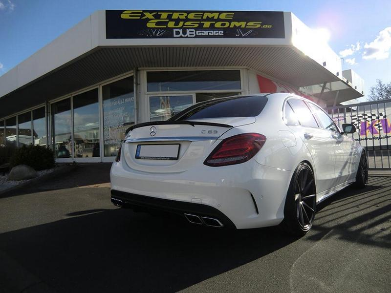 Mercedes C63 AMG W205 Chiptuning Wetterauer Brabus Vossen 2 Mercedes AMG C63 mit 622PS by Extreme Customs Germany