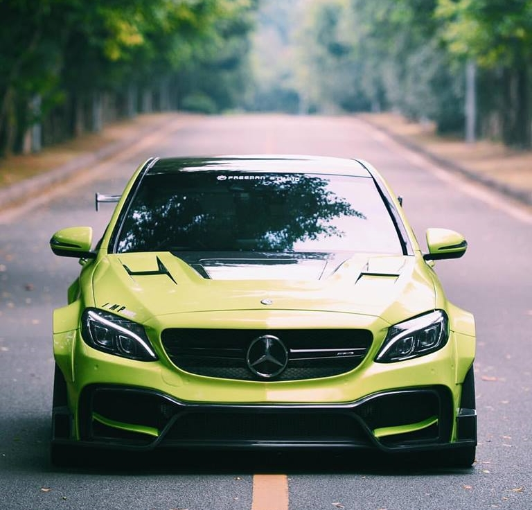 widebody mercedes benz c63s amg w205 by. Black Bedroom Furniture Sets. Home Design Ideas