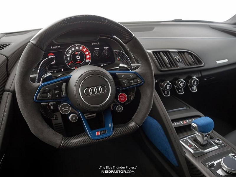 The Blue Thunder Project - Audi R8 V10 Plus by Neidfaktor ...