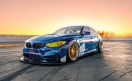 Race Themed BMW M3 Image 4 190x117 Voll auf Angriff   BMW M3 F80 im Racing Look by PSM Dynamic