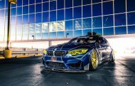 Race Themed BMW M3 Image 5 190x121 Voll auf Angriff   BMW M3 F80 im Racing Look by PSM Dynamic