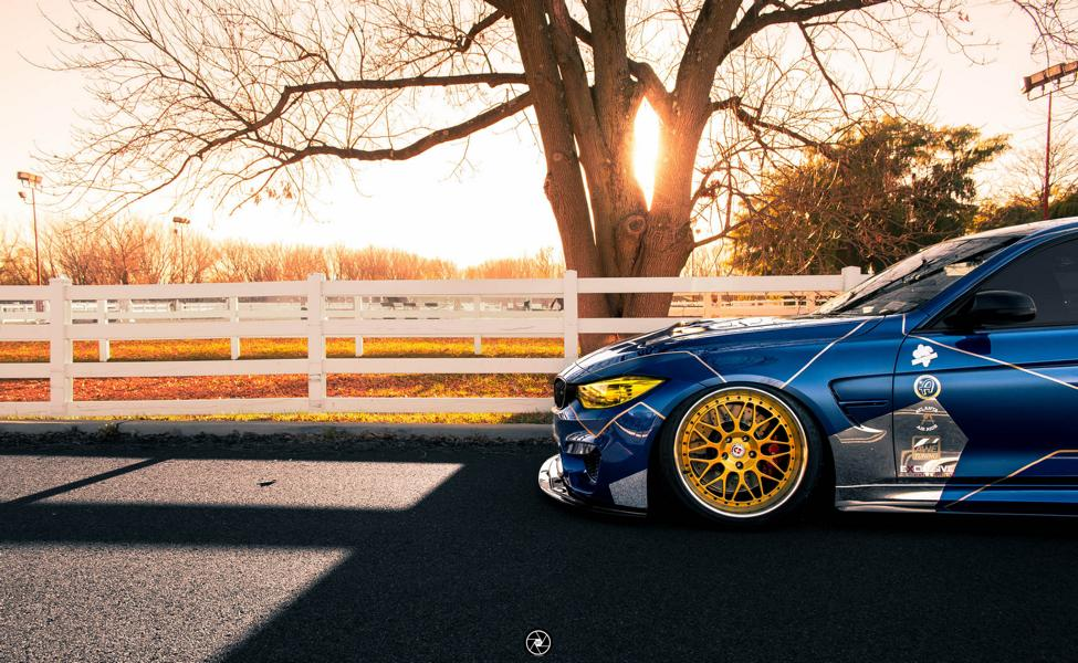 Race Themed BMW M3 Image 7 Voll auf Angriff   BMW M3 F80 im Racing Look by PSM Dynamic