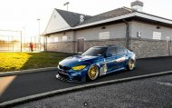 Race Themed BMW M3 Image 9 190x119 Voll auf Angriff   BMW M3 F80 im Racing Look by PSM Dynamic