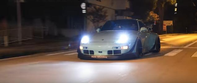 Rauh Welt RWB Porsche 911 930 Widebody 4K Video: Rauh Welt RWB Porsche 911 (930) Widebody (4K)