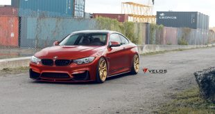 Sakhir Orange BMW M4 Loaded With Aftermarket Parts 1 310x165 Dezent   schwares BMW M4 F82 Coupe auf Velos VLS04 Alus