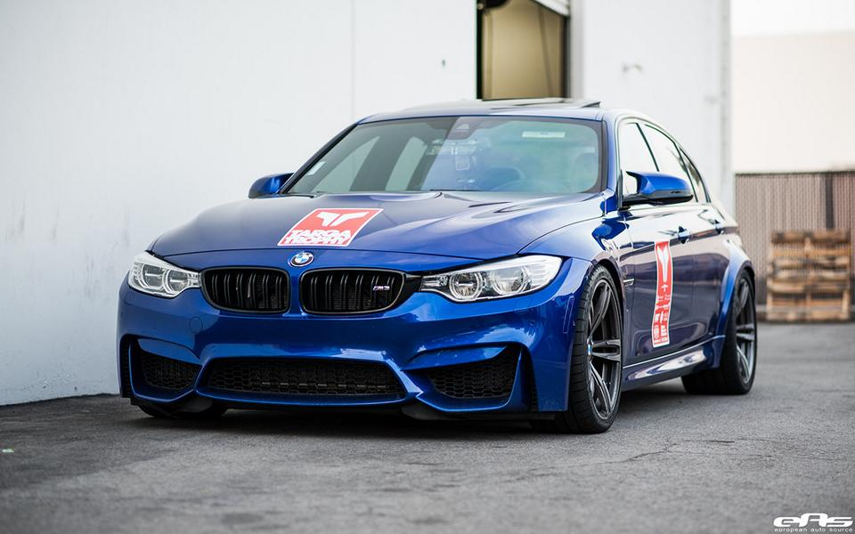 Bmw M3 F80 In San Marino Blau Bei Eas European Auto Source Tuningblog Eu Magazin
