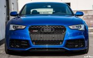 Sepangblaues Audi A5 RS5 Coupe Tuning HRE S101 Alufelgen 10 190x119 Sepangblaues Audi A5 RS5 Coupe auf HRE S101 Alufelgen