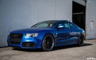 Sepangblaues Audi A5 RS5 Coupe Tuning HRE S101 Alufelgen 7 190x119 Sepangblaues Audi A5 RS5 Coupe auf HRE S101 Alufelgen
