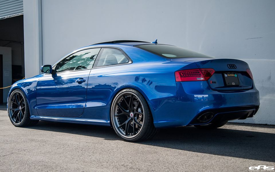 Sepangblaues Audi A5 RS5 Coupe Tuning HRE S101 Alufelgen 8 Sepangblaues Audi A5 RS5 Coupe auf HRE S101 Alufelgen