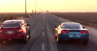 Subaru WRX vs Chevrolet Corvette C6 Dragrace 1 310x165 Video: Dragrace   Subaru WRX STI vs. Chevrolet Corvette C6