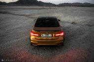 Sunburst Gold Metallic BMW M3 F80 HRE R101 Tuning 5 190x127 Seltener Sunburst Gold lackierter BMW M3 auf HRE Alu's