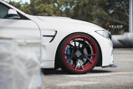 Velos S3 Wheels Tuning BMW M4 F82 Coupe 3 190x127 Rote Velos S3 Wheels am BMW M4 F82 Coupe