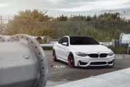 Velos S3 Wheels Tuning BMW M4 F82 Coupe 4 190x127 Rote Velos S3 Wheels am BMW M4 F82 Coupe