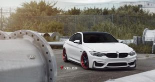 Velos S3 Wheels Tuning BMW M4 F82 Coupe 4 310x165 Rote Velos S3 Wheels am BMW M4 F82 Coupe