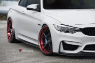 Velos S3 Wheels Tuning BMW M4 F82 Coupe 6 190x127 Rote Velos S3 Wheels am BMW M4 F82 Coupe