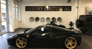 Vossen Wheels Tuning Ferrari 458 Italia 1 310x165 Goldene Vossen Wheels am Ferrari 458 Italia by Luxury Custom