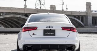 Widebody Audi A4 S4 B8 Tuning 310x165 Widebody Audi A5 S5 Coupe mit schwarzen RS6 Scheinwerfern
