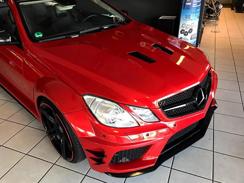 Widebody Mercedes E Klasse Cabrio A207 Tuning 4 Widebody Mercedes E Klasse Cabrio A207 by FL Exclusive