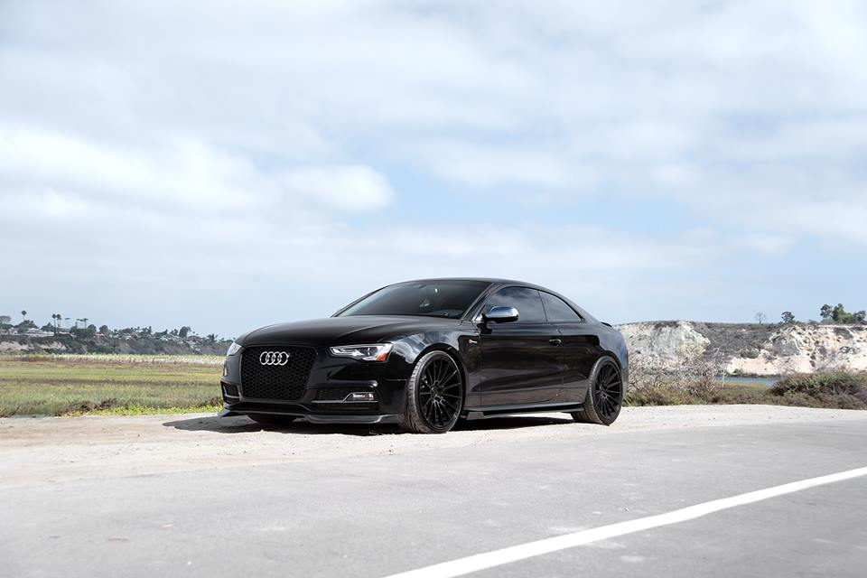 Zito Wheels ZS15 Audi A5 S5 Enlaes Tuning 40 Pechschwarzer Audi A5 S5 auf ZS15 Alu's by Boden AutoHaus