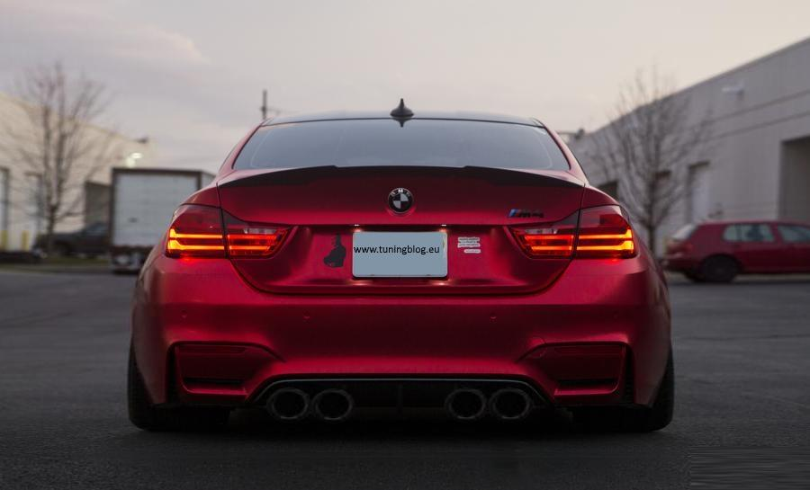 Deutlich Breiter Bmw M4 F82 Widebody Coupe By Tuningblog