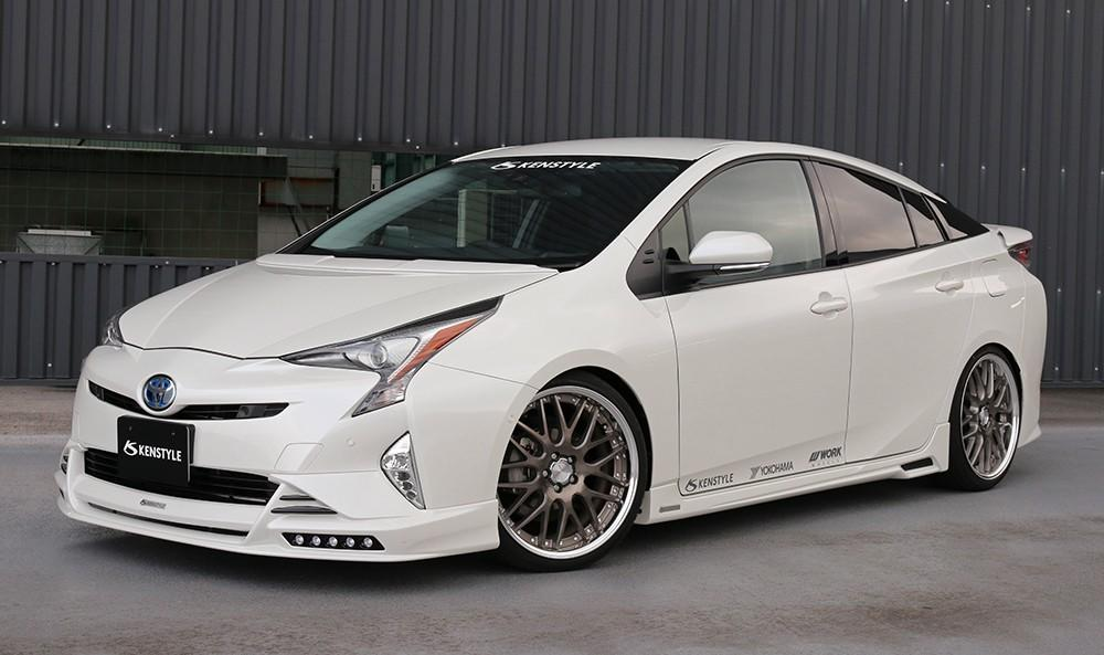 toyota prius kenstyle bodykit is tuning 1 Zurück in die 90er   2016 Toyota Prius mit Kenstyle Bodykit