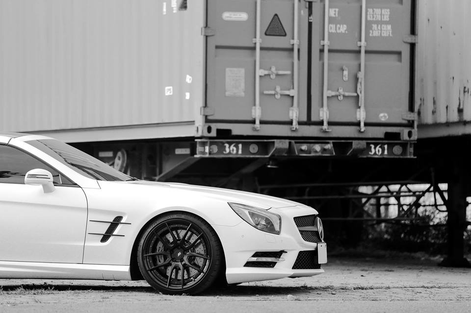 20 Zoll HCA162S BC Forged Wheels Mercedes Benz SL550 AMG R231 Tuning 5 20 Zoll HCA162S BC Forged Wheels am Mercedes Benz SL550 AMG