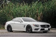 20 Zoll HCA162S BC Forged Wheels Mercedes Benz SL550 AMG R231 Tuning 6 190x126 20 Zoll HCA162S BC Forged Wheels am Mercedes Benz SL550 AMG