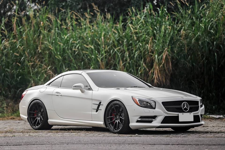 20 Zoll HCA162S BC Forged Wheels Mercedes Benz SL550 AMG R231 Tuning 6 20 Zoll HCA162S BC Forged Wheels am Mercedes Benz SL550 AMG
