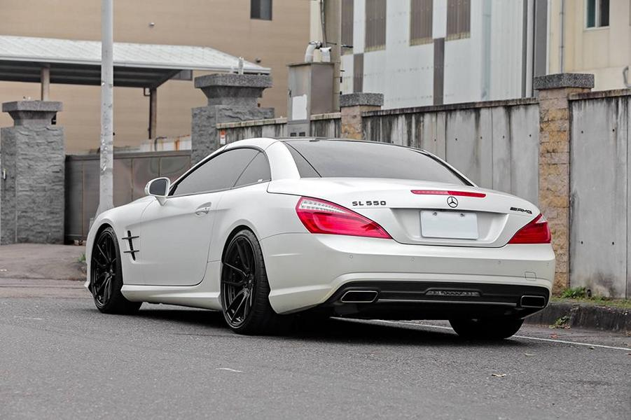 20 Zoll HCA162S BC Forged Wheels Mercedes Benz SL550 AMG R231 Tuning 9 20 Zoll HCA162S BC Forged Wheels am Mercedes Benz SL550 AMG