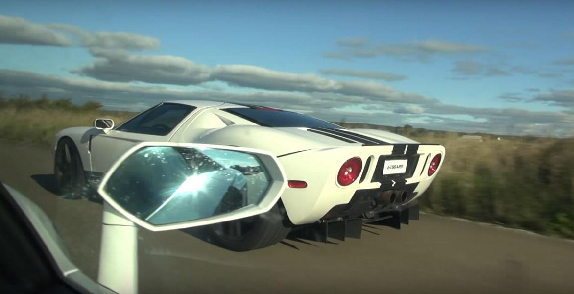 800PS Ford GT Kompressor vs. Lamborghini Aventador Video: 800PS Ford GT Kompressor vs. Lamborghini Aventador
