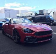 Abarth Fiat 124 Spider Madness Autoworks Tuning 2017 12 190x184 Abarth Fiat 124 Spider vom Tuner Madness Autoworks mit 200PS