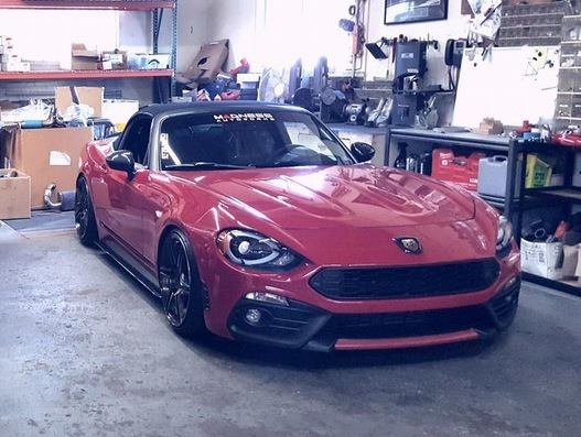 Abarth Fiat 124 Spider Madness Autoworks Tuning 2017 17 Abarth Fiat 124 Spider vom Tuner Madness Autoworks mit 200PS