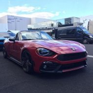 Abarth Fiat 124 Spider Madness Autoworks Tuning 2017 6 190x190 Abarth Fiat 124 Spider vom Tuner Madness Autoworks mit 200PS
