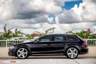 Audi A4 B8 Allroad Audi RS Rotor Tuning 13 190x127 Gelungene Optik   Audi A4 B8 Allroad auf Audi RS Felgen