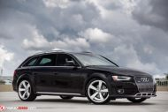 Audi A4 B8 Allroad Audi RS Rotor Tuning 4 190x127 Gelungene Optik   Audi A4 B8 Allroad auf Audi RS Felgen