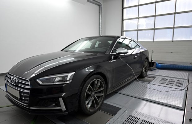 Audi A5 F5 Chiptuning Speed Buster 1 Neuer Audi A5 (F5) mit 420PS & 595NM von Speed Buster