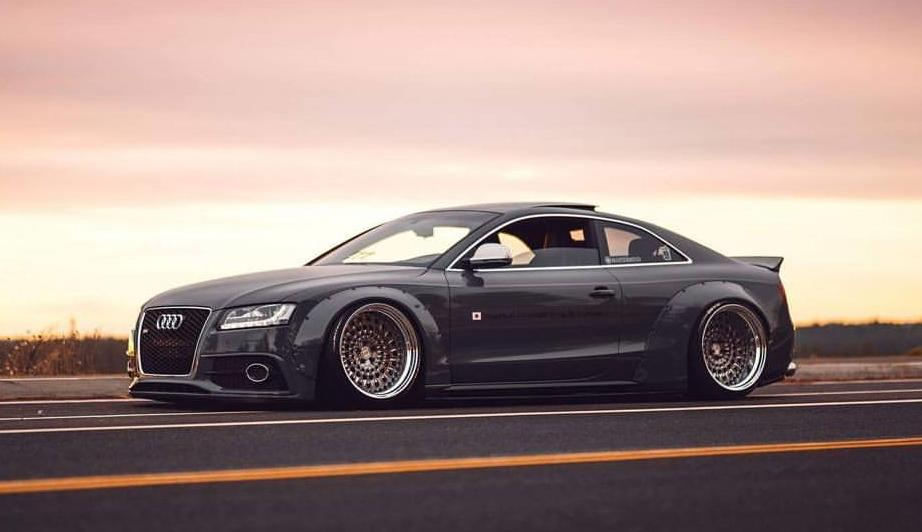liberty widebody audi a5 s5 coupe mit rs6 scheinwerfern. Black Bedroom Furniture Sets. Home Design Ideas