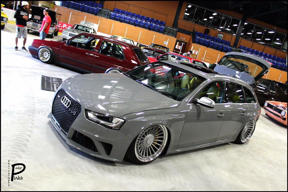 Audi B8 S4 3 0t Avant Unix Performance On Rotiforms Tuningblog Eu