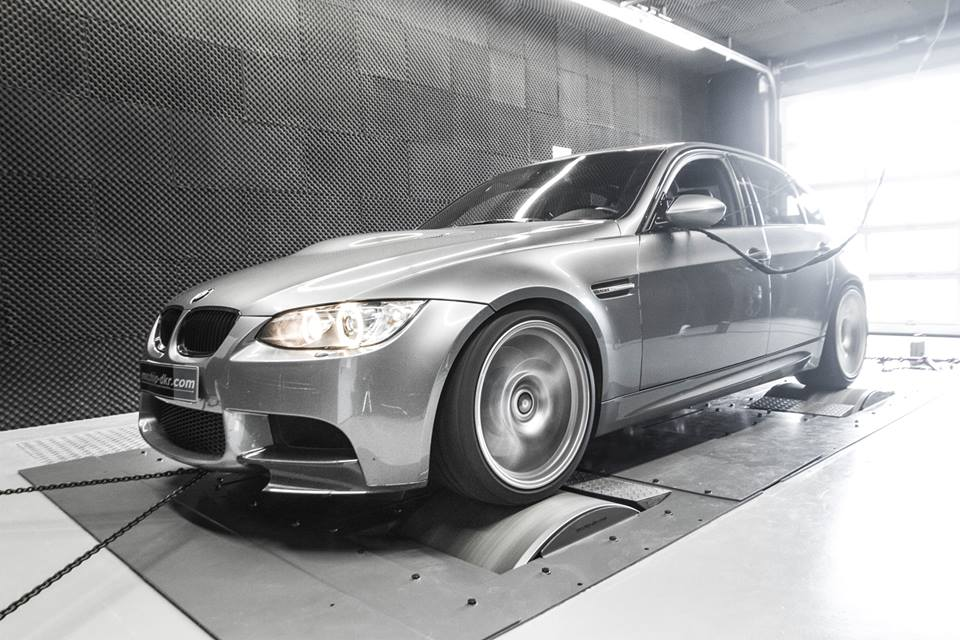 BMW E90 M3 Mcchip Chiptuning 1 436PS & 412NM in the BMW E90 M3 thanks to Mcchip chip tuning