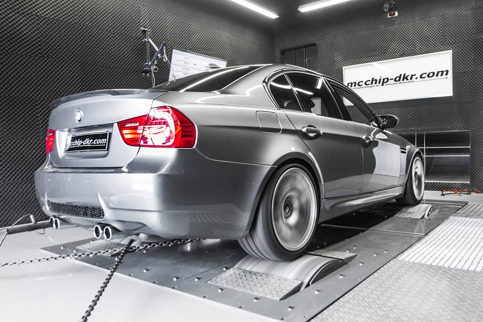 BMW E90 M3 Mcchip Chiptuning 3 436PS & 412NM in the BMW E90 M3 thanks to Mcchip chip tuning