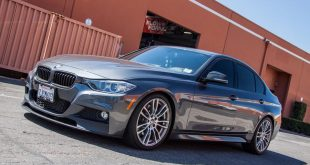 BMW F30 335i Msport Tuning Remus 1 310x165 HRE Performance Wheels FF15 Alufelgen am Subaru WRX