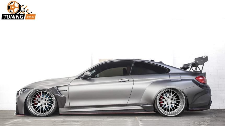 BMW M4 F82 Coupe Widebody 21 Zoll 21 Zöller & Widebody Kit am BMW M4 F82 Coupe by tuningblog